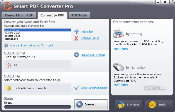 #1 Smart PDF Converter Pro Screenshot 5