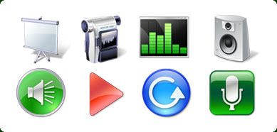 Icons-Land Vista Style Multimedia Icon Set Screenshot