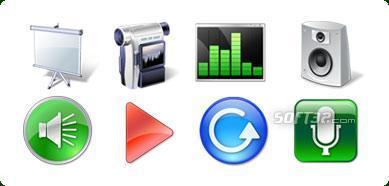 Icons-Land Vista Style Multimedia Icon Set Screenshot 3