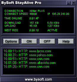 BySoft StayAlive Pro Screenshot