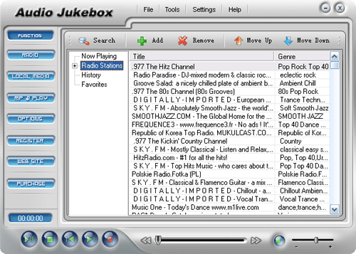 Audio Jukebox Screenshot 1