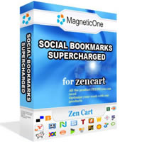 Social Bookmarks Zen Cart Module Screenshot 1