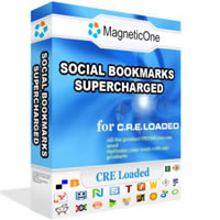 Social Bookmarks CRE Loaded Module Screenshot