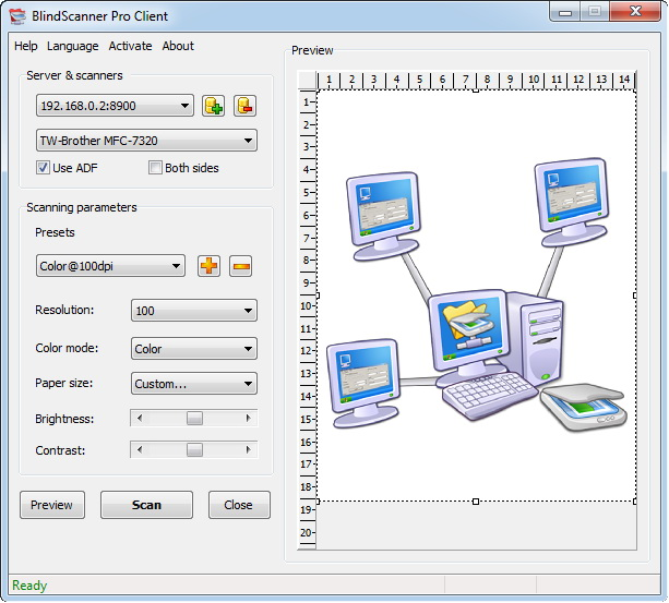 BlindScanner Pro Screenshot