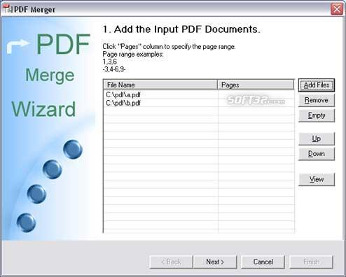 PDF Merger Screenshot 3
