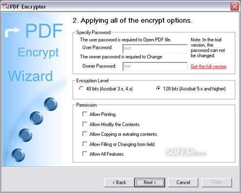 PDF Encrypter Screenshot 3