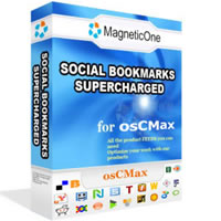 Social Bookmarks Supercharged - osCMax Module Screenshot 2