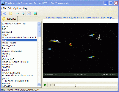Movies Extractor Scout LITE Screenshot 2