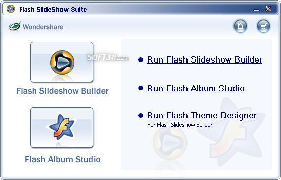 Wondershare Flash SlideShow Suite Screenshot