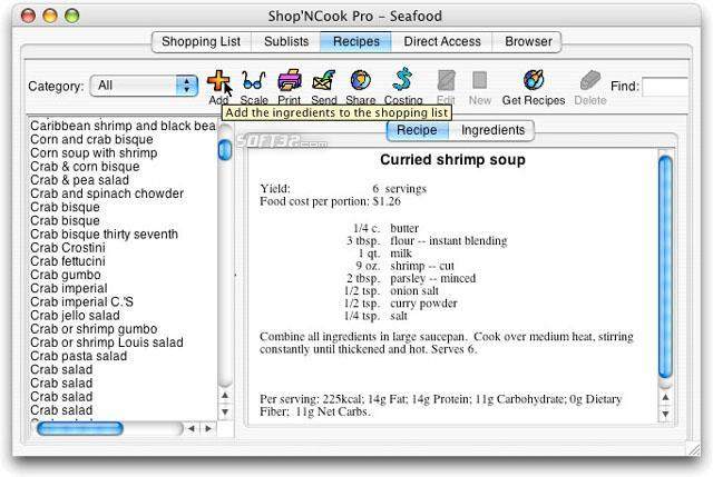 Shop N Cook Pro Screenshot 2