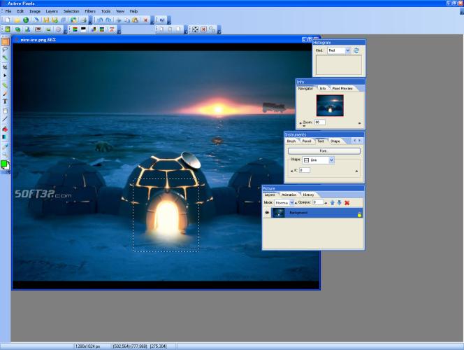 Active Pixels Screenshot 2
