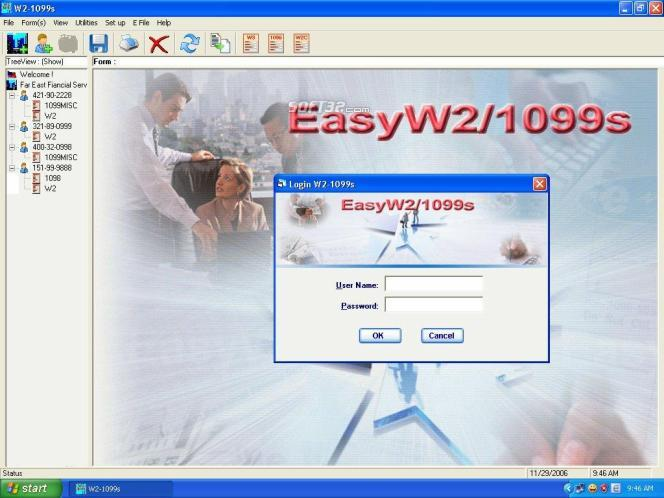 EasyTax W2/1099 Software Screenshot 2