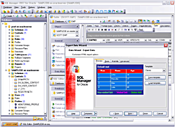 EMS SQL Manager for Oracle Freeware Screenshot