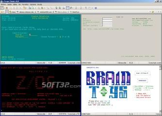 z/Scope Classic Terminal Emulator Screenshot 3