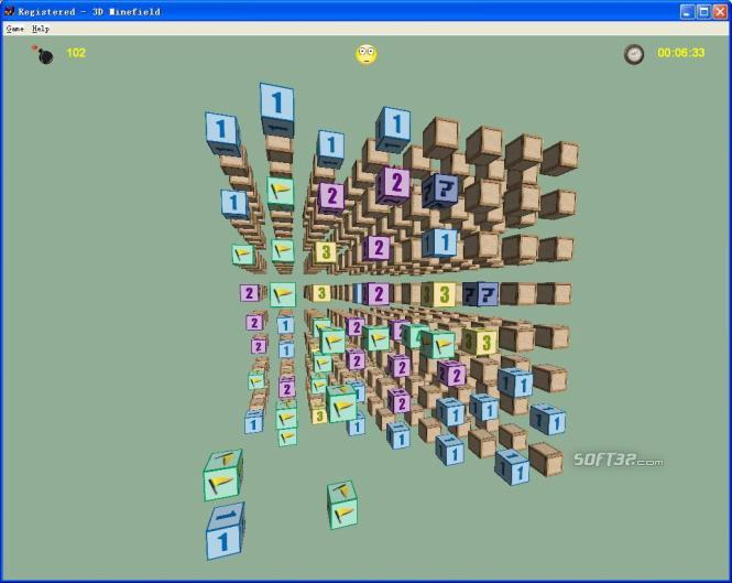 3D Minefield Screenshot 3