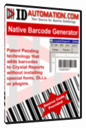 Barcode Generator for Crystal Reports Screenshot