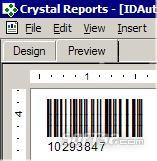 Barcode Generator for Crystal Reports Screenshot 3