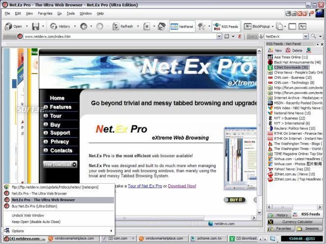 Net.Ex Pro Screenshot 3