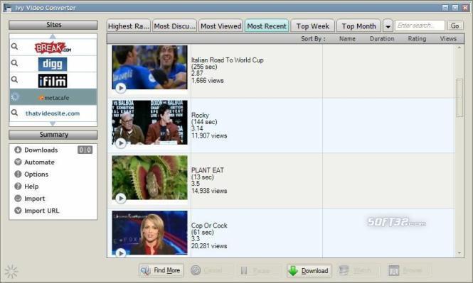 Ivy Video Converter Screenshot 3