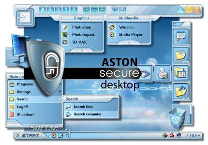 Aston Secure Desktop Screenshot 2