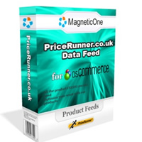 osCommerce PriceRunner Data Feed Screenshot