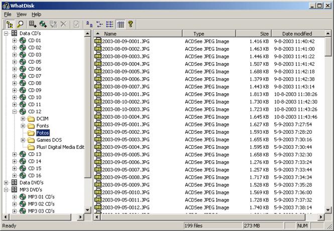 WhatDisk Screenshot