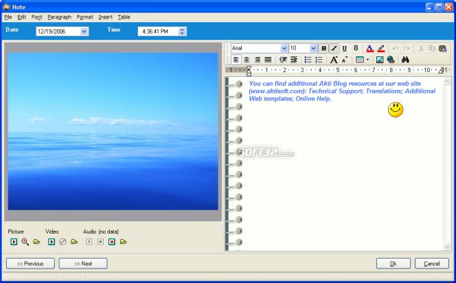 Akti Blog Screenshot 4