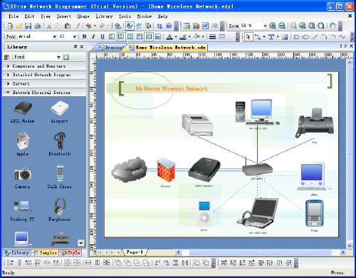 Edraw Network Diagram Screenshot 1
