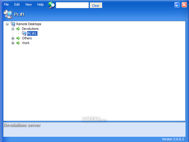 Remote Desktop Manager Screenshot 2