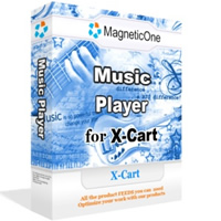 Music Player for X-Cart Screenshot 1