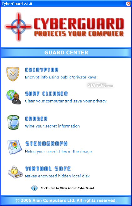 CyberGuard Screenshot
