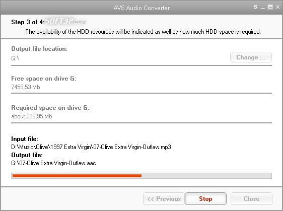 AVS Audio Converter Screenshot 2