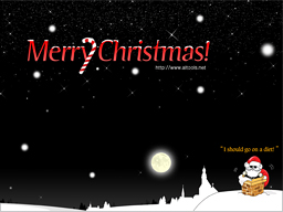 ALTools Xmas Desktop Wallpaper Screenshot 1
