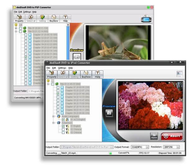 dvdXsoft DVD PowerPack Screenshot 1