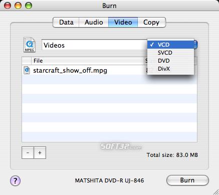 Burn Screenshot 4