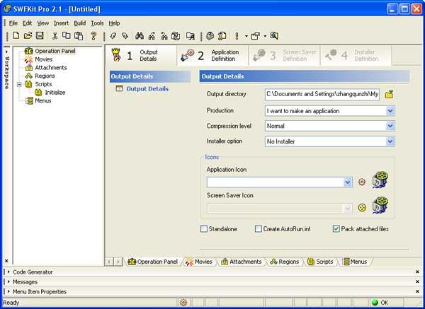 SWFKit Pro Screenshot