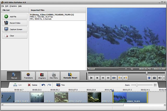 AVS Video ReMaker Screenshot 3
