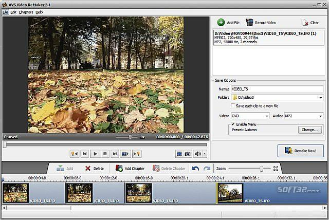 AVS Video ReMaker Screenshot 2