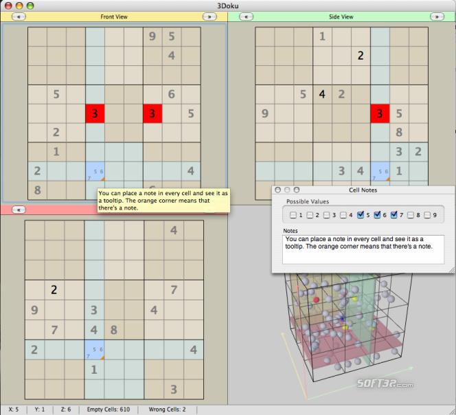 3Doku (for Mac OS X) Screenshot 2