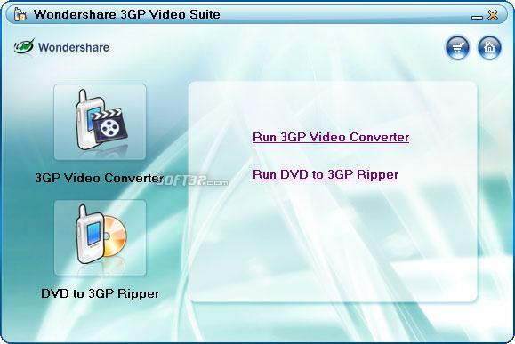 Wondershare 3GP Video Suite Screenshot