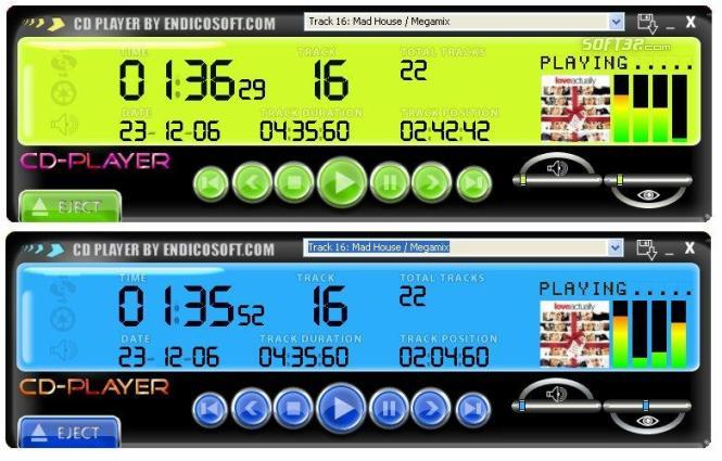 CD-Player Screenshot 3