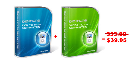 Digiters DVD to iPod Converter + Video Screenshot