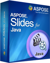 Aspose.Slides for Java Screenshot