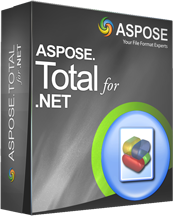 Aspose.Total for .NET Screenshot