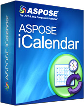 Aspose.iCalendar for .NET Screenshot