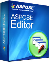 Aspose.Editor for .NET Screenshot