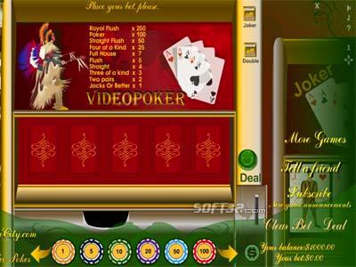 MyPlayCity Video Poker Screenshot 3