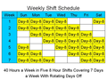 8 Hour Shift Schedules for 7 Days a Week 1