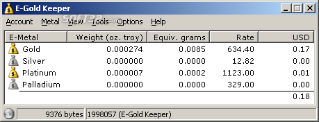 E-Gold Keeper Screenshot 3