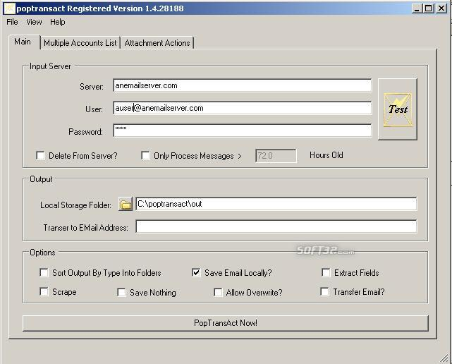 PopTransAct Screenshot 3